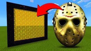 How To Make A Portal To The Jason Voorhees Dimension in MInecraft