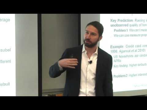 Andrew Hertzberg: Maturity Choice in Consumer Lending