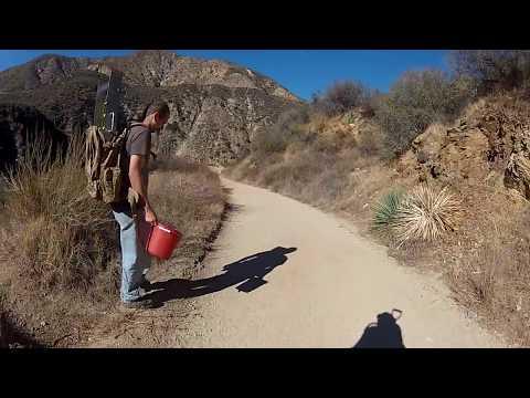Gold Prospecting the San Gabriel River 12/6/17