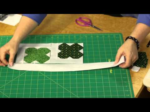 Quilting Quickly: Luck O' the Irish - Table Runner Quilt Pattern
