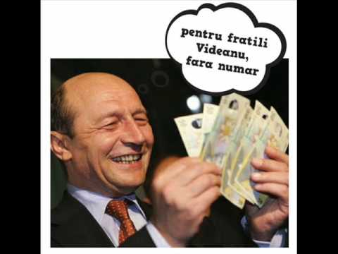 Basescu Traian (Nicolae Guta - Din Hotie Fac o Arta).wmv