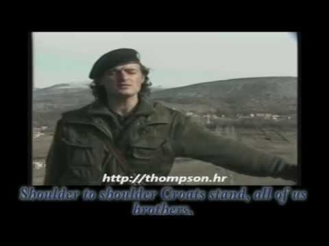 Thompson Marko Perkovic - Cavoglave (English Lyrics)
