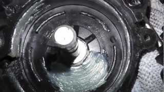 BMW E36 FRONT DRIVERS WINDOW MOTOR REPAIR PART 2