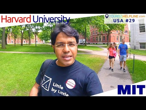 BOSTON: my LAST DAY IN USA with Harvard & MIT | CouchSurfing Tips