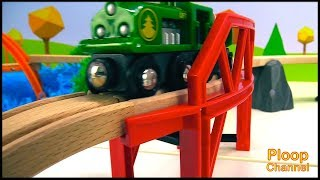 Choo-Choo TRAIN COLLISION! - BRIO Toy Truck FIXERS! - Brio Toy Trains & Toy Cars videos for kids