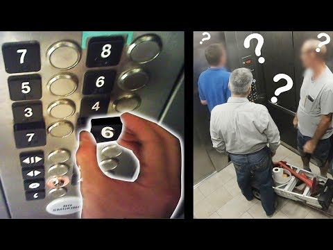 Switching Elevator Buttons