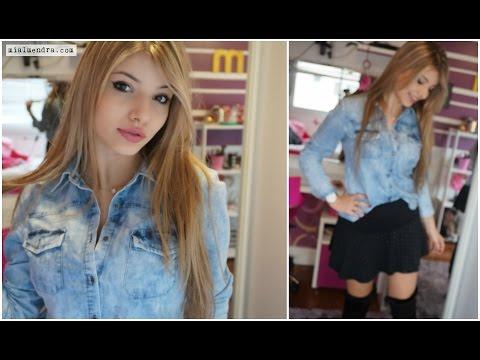 Como combinar Looks com camisa jeans!