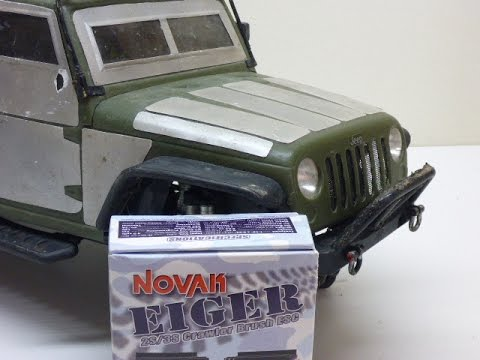 The Axial SCX10 is back! Novak Eiger ESC + programming