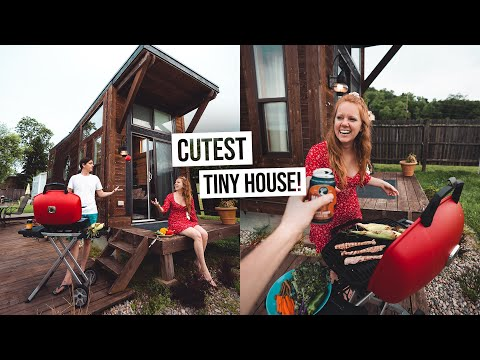 self-isolation-vacation!---adorable-tiny-house-tour-&-bbq-cookout-in-cincinnati-😍