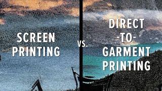 Screen Print vs. DTG (Direct-to-Garment) Print