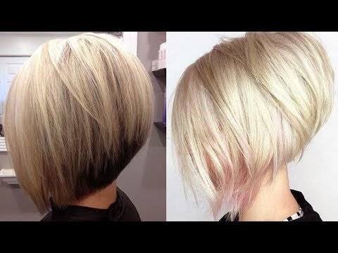 Really Trending Short Stacked Bob Haircut Ideas
