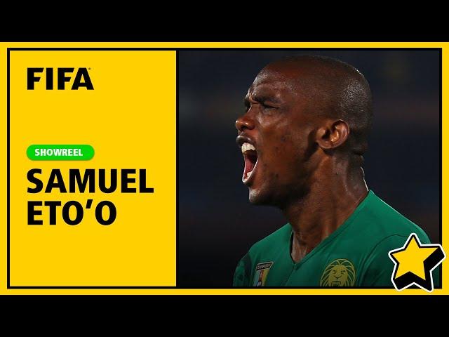 Samuel Eto'o Showreel | Skills & Goals