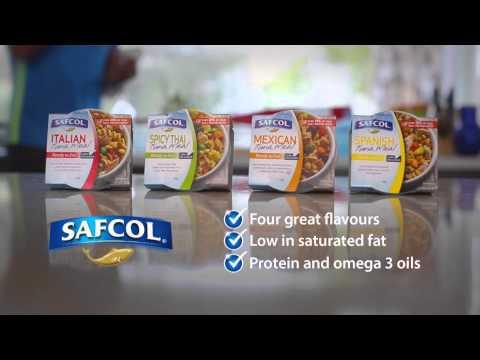 Safcol TVC 15 healthy tuna meal range