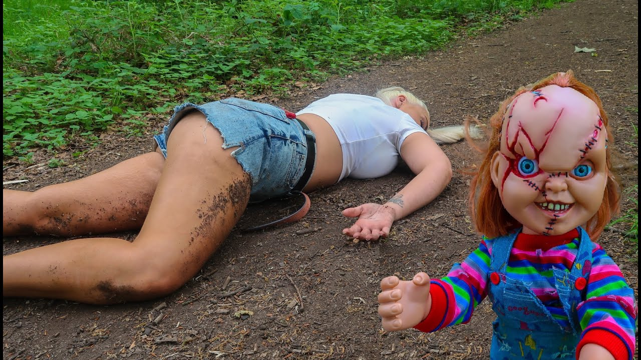 Chucky Surprise Attack In Forest!