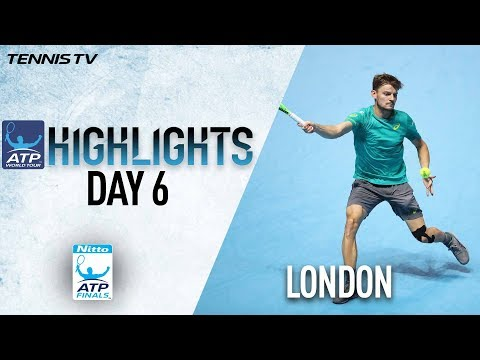 Highlights: Goffin Earns SF Spot With Thiem Win Nitto ATP Finals 2017 Round Robin