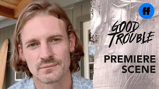 Good Trouble Season 3 Premiere | Dennis Tells Davia He Needs to Be Alone | Freeform