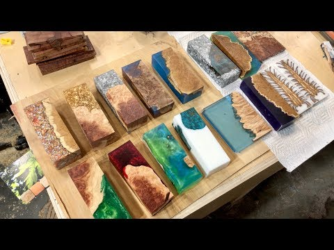 "How To Make Alumilite & ""Worthless Wood"" Burl Blanks"