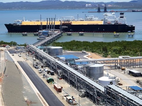 First LNG Cargo from Queensland Curtis LNG