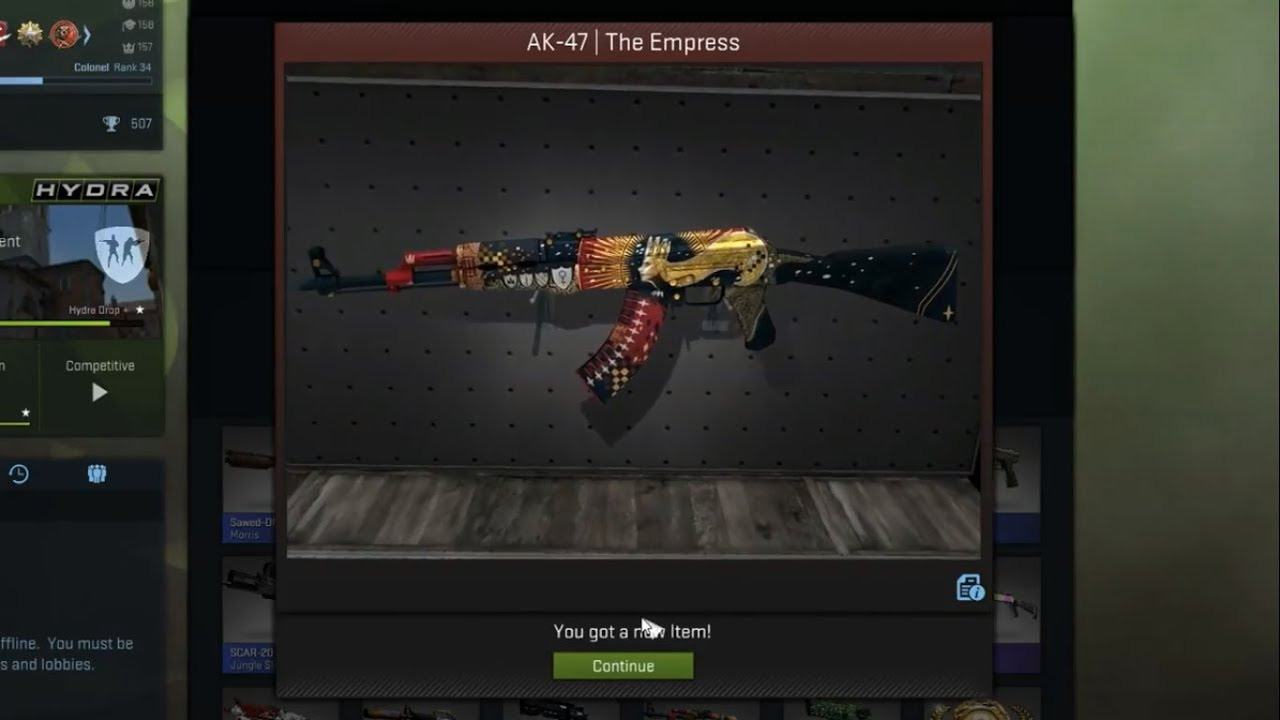 Cs Go Ak 47 Empress Unboxing Openings From Spectrum 2 Case Hd