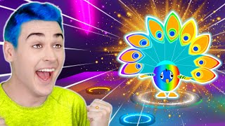 Making The *WORLD'S FIRST* MEGA NEON PEACOCK In Adopt Me!! Easter Update 2021 (Roblox)