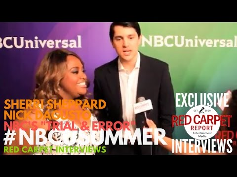 "Sherri Shepherd & Nick D'Agosto - NBC's ""Trial & Error"" at NBCUniversal's Summer 2017 Press Day"