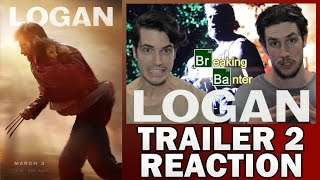 Logan trailer 2 reaction