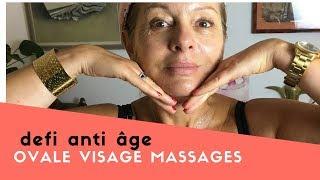 Raffermir l'ovale du visage en un mois (anti âge) massages, gym