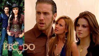 Mi Pecado - Capítulo 73: ¡Lorena sorprende a Lucrecia con Julián! | Televisa