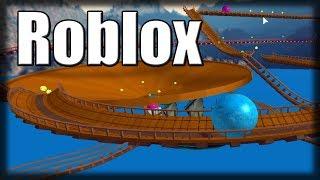 Jogando Roblox - Slide de Bolas