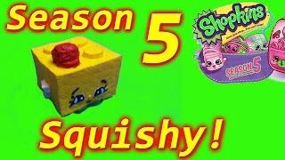 Shopkins Season 5 DIY Squishy Squishies Blocky,cookie swirl c inspired,shopkin videos