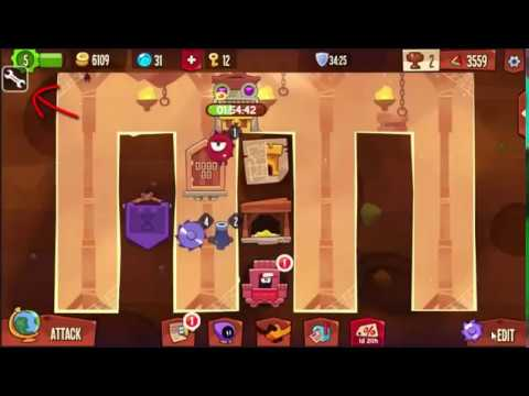 HOW TO SAVE AN IMPOSSIBLE BASE // Easy hack King of Thieves