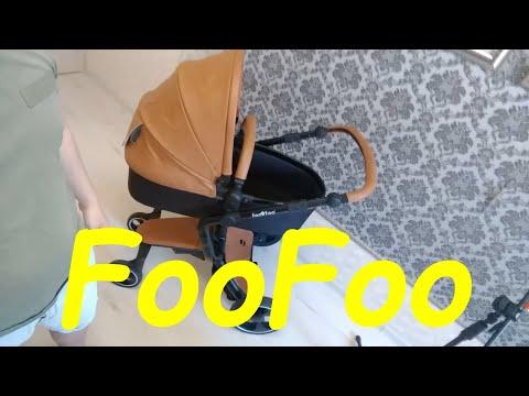 Детская коляска FooFoo. 2/1.Честный обзор.Полная трансформация от владельца.Baby Carriage FooFoo.