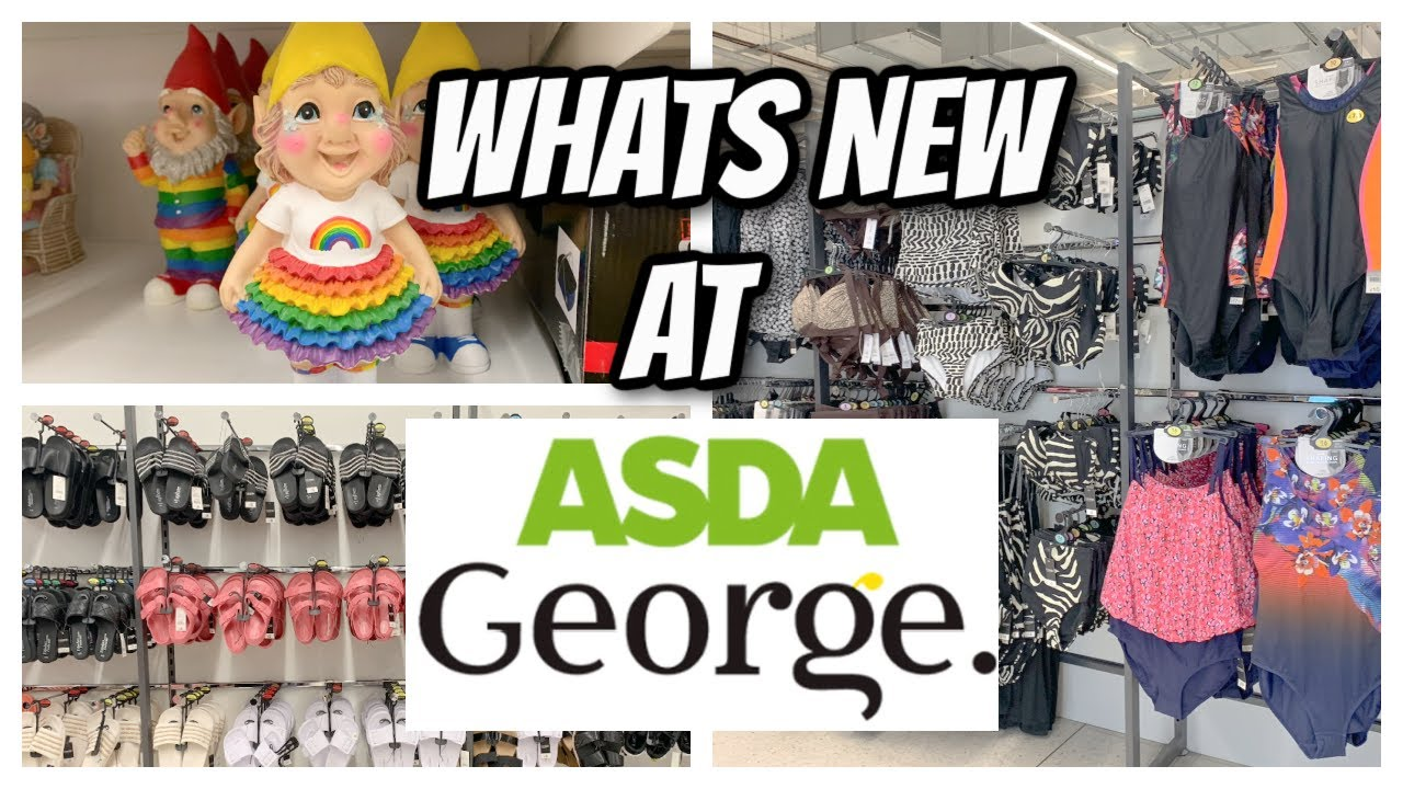 *WHAT NEW*  ASDA GEORGE / SUMMER CLOTHES, SWIMWEAR & SOME HOME BITS 👙🩱
