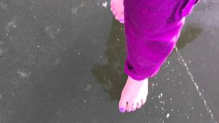 barefoot on ice to moon river by beru revue