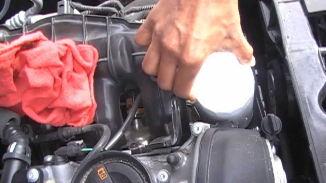 audi a4 oil change how to - b8 chassis 2009 - present - youtube