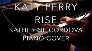 Katy Perry Rise HQ piano cover.mp3
