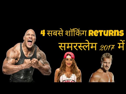WWE 4 Most Shocking Returns May Happen in Summerslam 2017