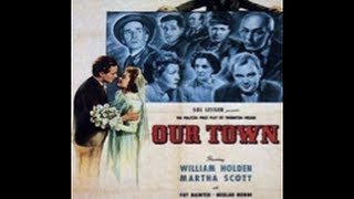 SINFONIA DE LA VIDA INGLES SUBTITULADA (OUR TOWN, 1940, V.O. Spanish subtitled, Full movie, Cinetel)