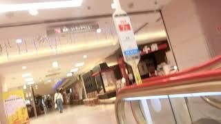 鶴屋百貨店本館の中央エスカレーター(5階→8階間)