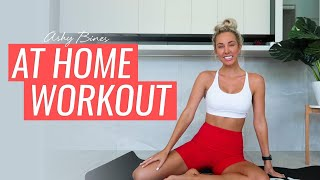 REAL TIME - 10 MINUTE WORKOUT WITH ME!