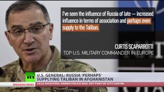 US General accuses Russia of supplying Taliban while presenting 'no facts, no numbers, no documents' thumbnail