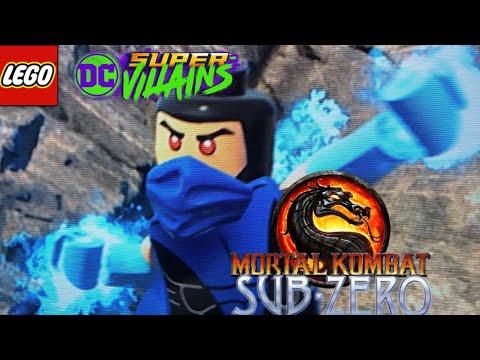 LEGO DC Super Villians - How To Make Sub-Zero from Mortal Kombat  