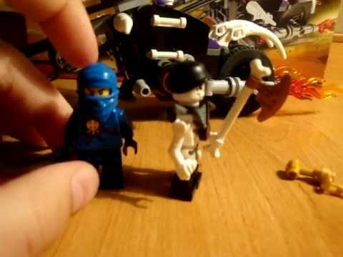 Lego Ninjaco черепной мотоцыкл