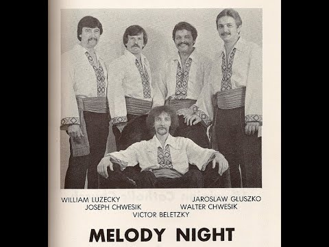 Melody Night Band-Ukrainian Folk Music Live in Carteret, New Jersey-1979