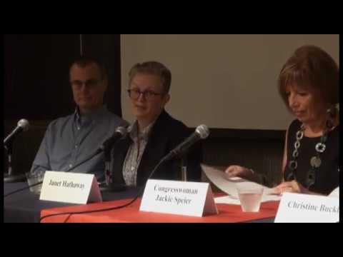 Congresswoman Speier's Panel on Brain Aneurysms During National Awareness Month