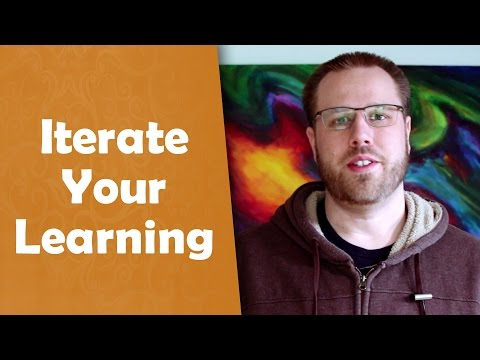 Iterate Your Learning - Creative Exploration