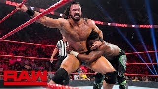 Cedric Alexander vs. Drew McIntyre: Raw, Aug. 12, 2019