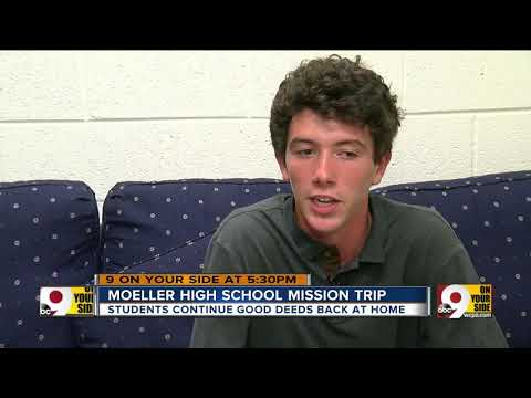 Moeller High School students inspired by service trip to Latin America