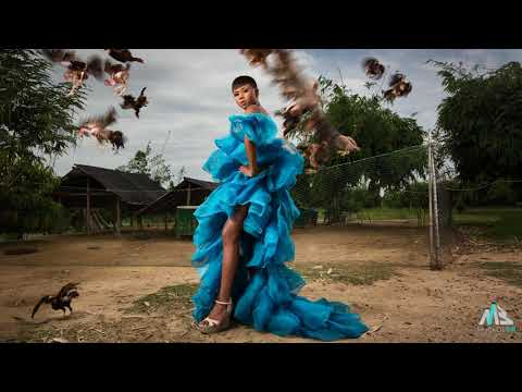 Behind the scene: 'Fashion with Nature' by MackiddBill and Keow Wee Loong at Thailand