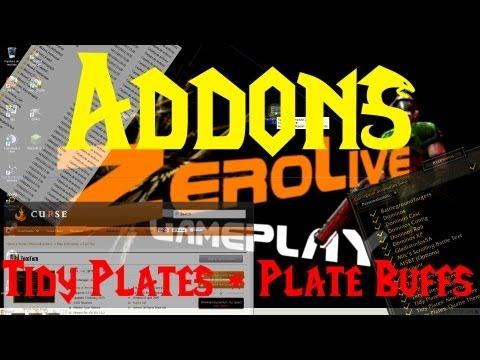 World of Warcraft : Addons - Utilizando Tidy Plates + Plate Buffs - MoP.